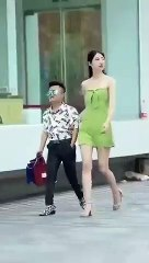 Ce couple atypique semble prouver que 'la taille, ça ne compte pas'