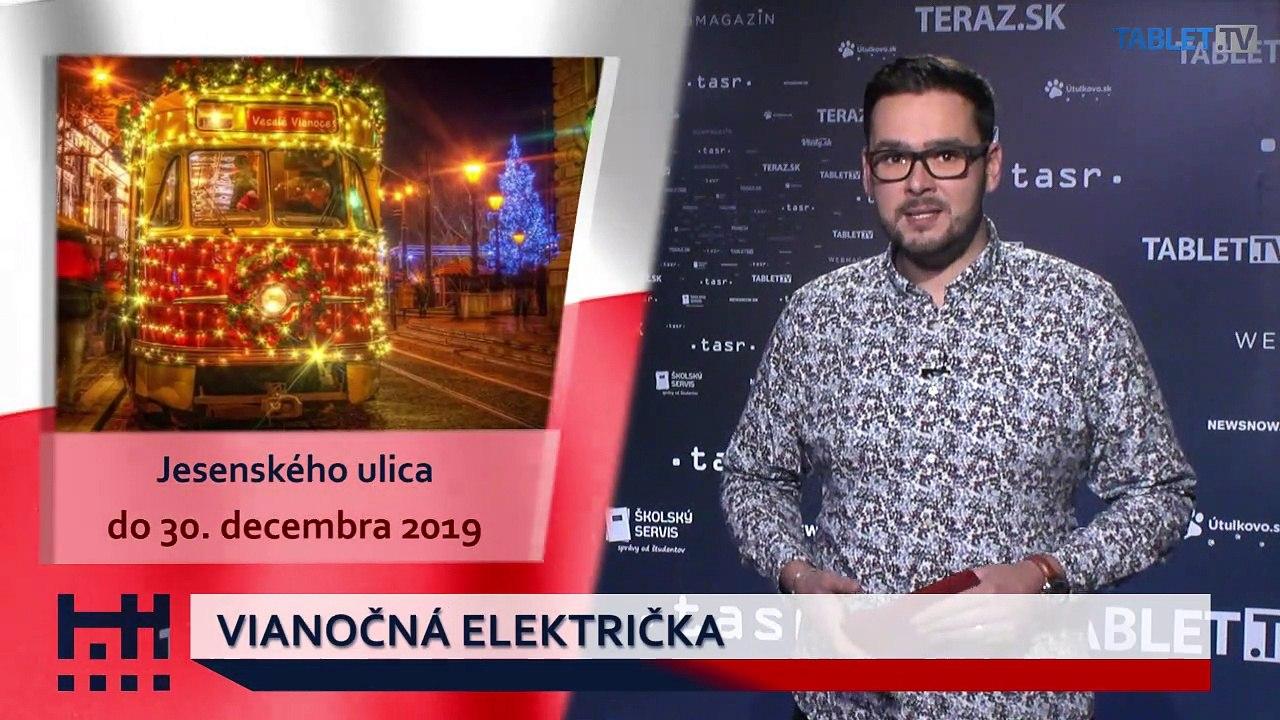 POĎ VON: Vianočná električka