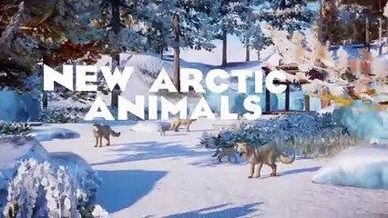 Planet Zoo : lancement du pack Arctique