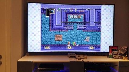 The Legend of Zelda a Link to the Past sur Super Nes Mini