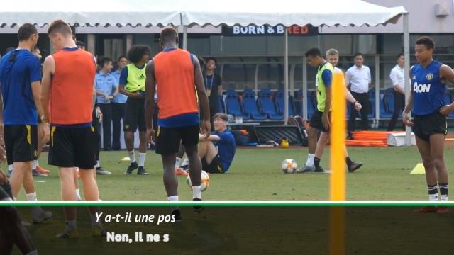 "Man United - Solskjar : ""Pogba ne sera pas vendu en janvier"""