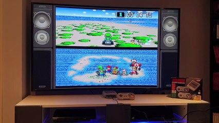Prise en main de Mario Kart sur Super Nes Mini