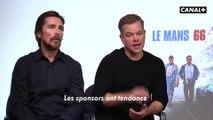 Le Mans 66 - Souvenirs de tournage cinéma par Christian Bale et Matt Damon