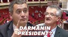 Lassalle prédit un grand avenir à Darmanin... qui s'y voit déjà?