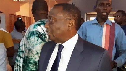 Sidya Touré de rétour à Conakry, parle de la de claration du Chef de l'Etat