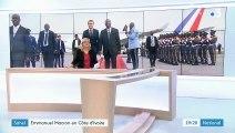 Sahel : Emmanuel Macron passe le réveillon de Noël avec les militaires en Côte d'Ivoire