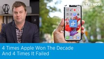 4 times Apple won the decade and 4 times it failed