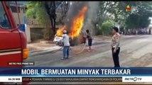 Mobil Bermuatan Minyak Meledak di Bogor