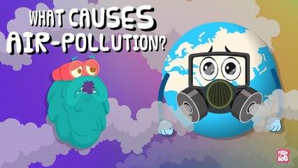 Air Pollution   What Causes Air Pollution?   The Dr Binocs Show   Kids Learning Videos Peekaboo Kidz