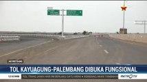 Tol Kayuagung-Palembang Dibuka Fungsional