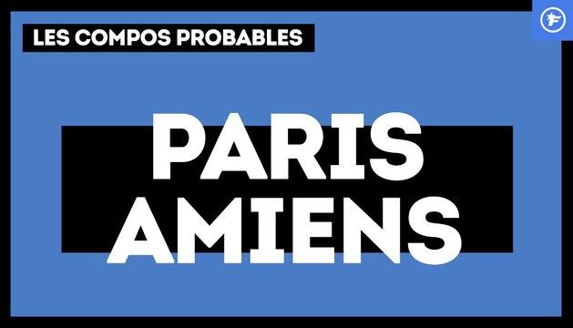 PSG-Amiens : les compos probables