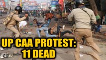 Violent CAA protests continue to rock UP, death toll mounts to 11   Oneindia News