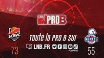 PRO B : Saint-Chamond vs Nantes (J11)