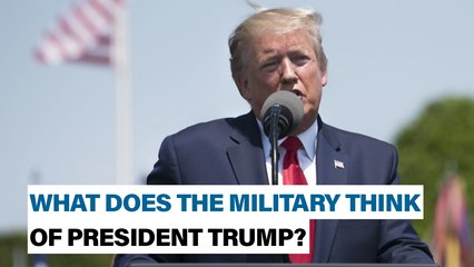 What does the military think about President Trump?   Defense News Weekly, Dec. 20, 2019
