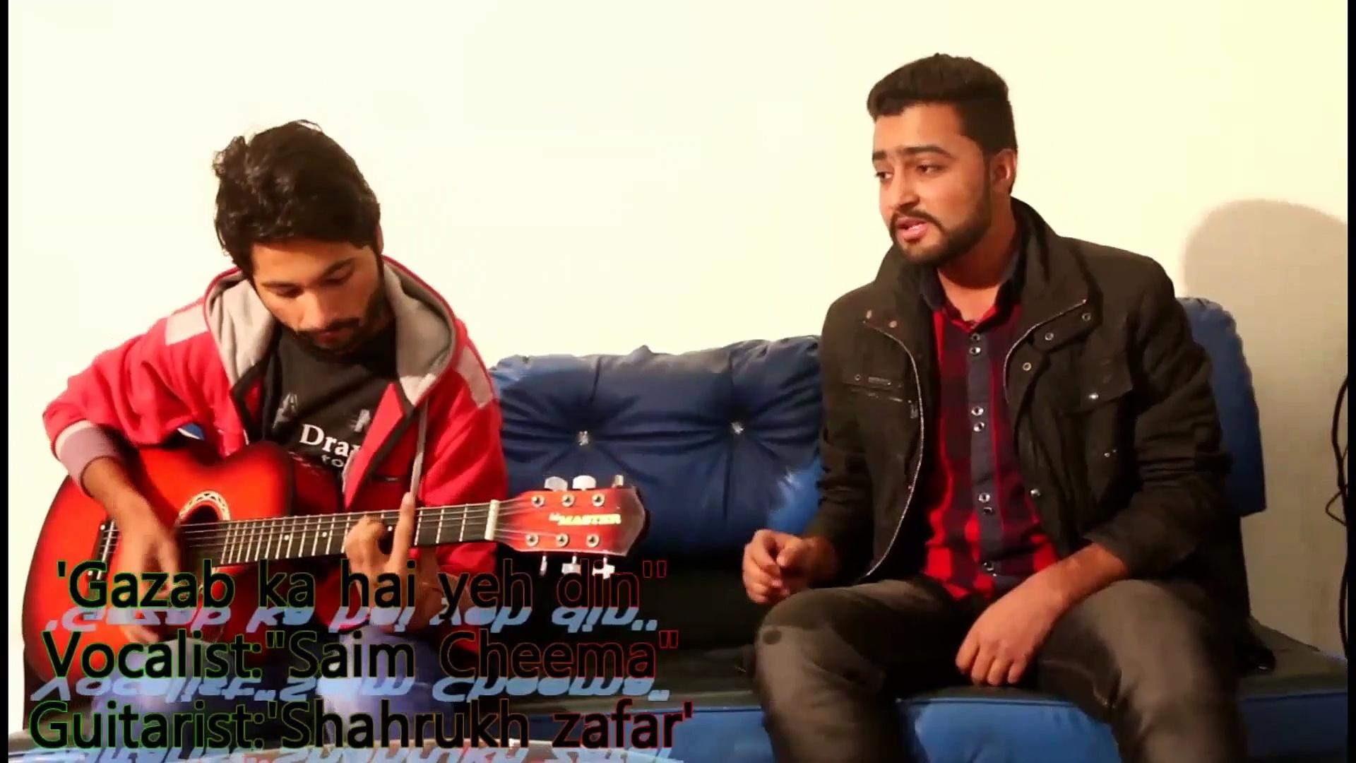 GAZAB KA HAIN YEH DIN' Guitar Cover | SANAM RE | Pulkit Samrat, Yami Gautam | Divya khosla Kumar