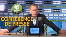 Conférence de presse AJ Auxerre - AS Nancy Lorraine (0-0) : Jean-Marc FURLAN (AJA) - Jean-Louis GARCIA (ASNL) - 2019/2020