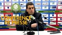 Conférence de presse Châteauroux - EA Guingamp (1-5) : Nicolas USAI (LBC) -  (EAG) - 2019/2020