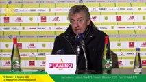 FC Nantes - Angers SCO : la réaction de Christian Gourcuff