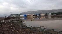 Suriye'de bombardımandan kaçtılar, kışın çilesine yakalandılar - İDLİB