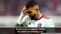Flamengo played as Liverpool's equals- Gabriel Barbosa
