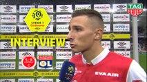 Interview de fin de match : Stade de Reims - Olympique Lyonnais (1-1)  - Résumé - (REIMS-OL) / 2019-20