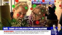 Noël : dans les coulisses d'une chocolaterie