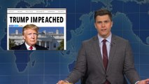 Weekend Update: President Trump Gets Impeached