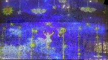 LE CAP D'AGDE - La façade du Palais des Congrès sublimée par un mapping vidéo