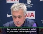 """18e j. - Mourinho : """"Ndombélé, un milieu multi-fonctions"""""""