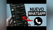 nuevo whatsapp modo oscuro  New whatsapp dark mode Nouveau mode sombre WhatsApp