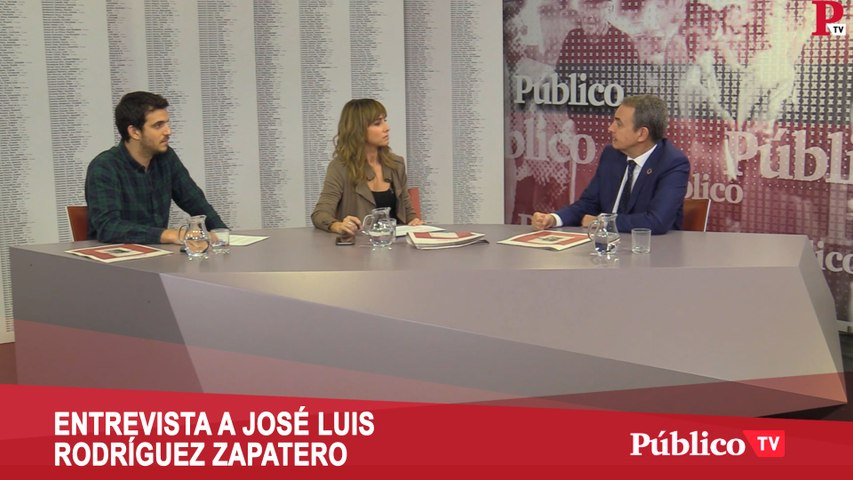 """Entrevista completa a Zapatero: """"Debe caer sobre Billy el Niño todo el peso de la justicia"""""""