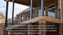 Aluminum Handrails & Banisters for Staircases & Homes in Knoxville, TN