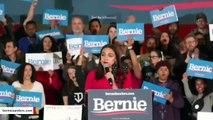 Ocasio-Cortez Jabs Pete Buttigieg Over Wine Cave Dinner At Bernie Sanders Rally