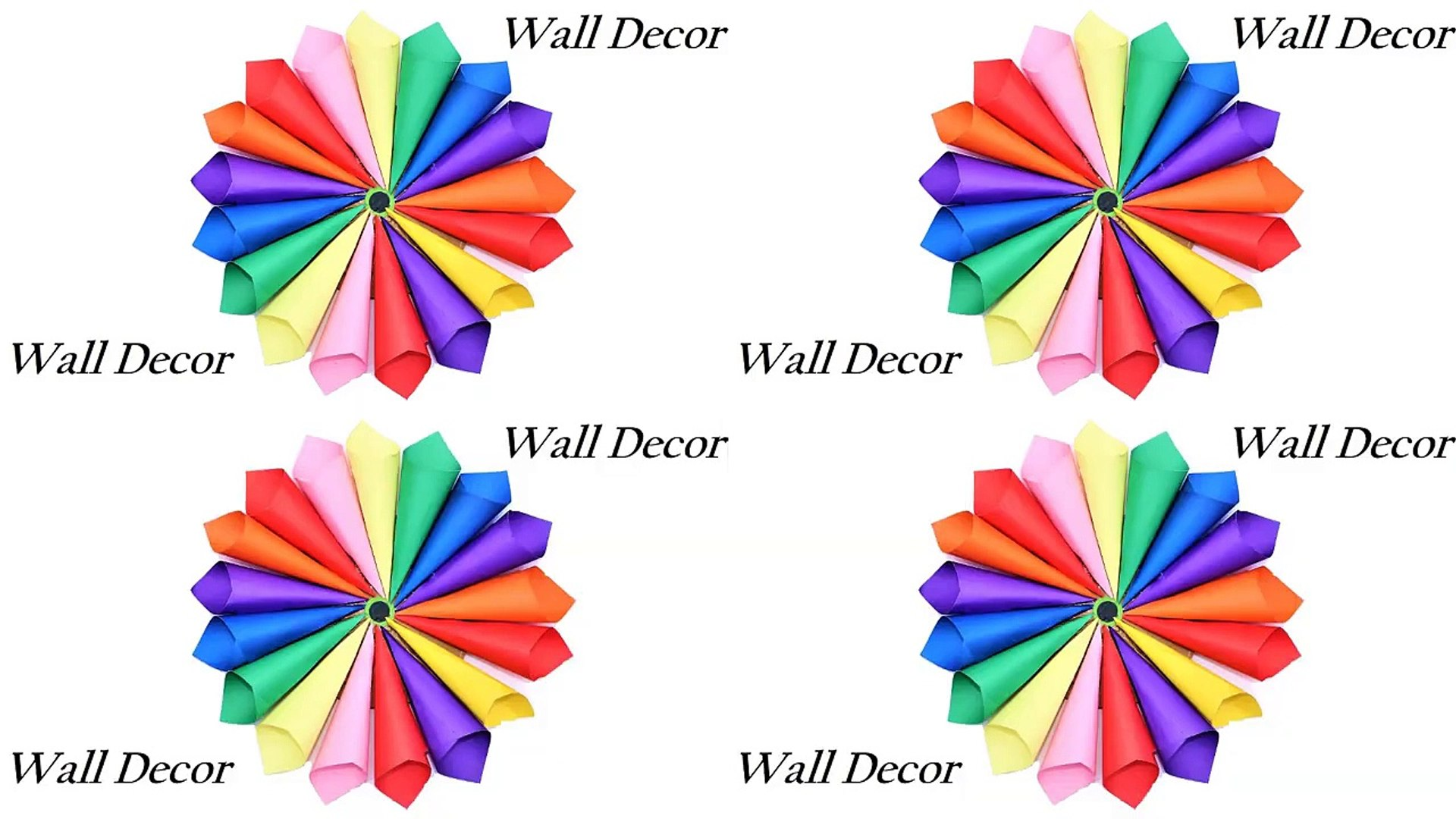 Wall Decoration Ideas With Paper from s1.dmcdn.net