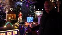 La maison du Père Noël à Trognée