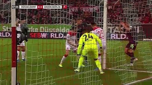 Fortuna Düsseldorf - Union Berlin (2-1) - Maç Özeti - Bundesliga 2019/20