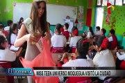 Miss Teen Universo Moquegua recorrió maravillas turísticas de Ilo