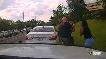 Así salva este policía la vida a un bebé que dejó de respirar en el coche de su madre