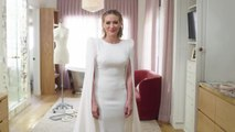 Hilary Duff Wears an Elegant Jenny Packham Design to Wed Matthew Koma at Home in L.A.