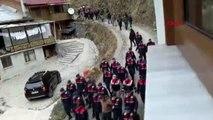 Trabzon uzungöl'de kaçak yapıların yıkımına başlandı - 2