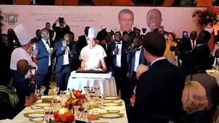 Côte d'Ivoire: Emmanuel MACRON célèbre ses 42 ans à Abidjan