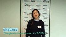 Les directions de Bercy présentent leurs innovations - la DGDDI avec Elise CEROU, chargée de communication la DGDDI