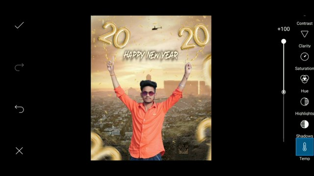Happy new year 2020 Special photo editing in PicsArt ,2020 creative new year photo editing #Editorboynilesh