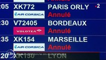 Corse : le trafic aérien perturbé après la tempête