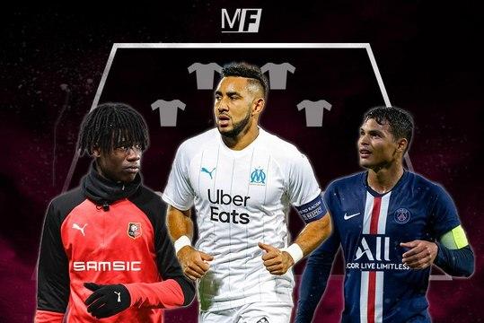 L1 : l'équipe-type de la 1ère partie de saison 2019-2020