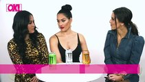 The Bella Twins Discuss Their New Year's Resolutions