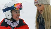 Lindsey Vonn Shocks Teenage Skier With Surprise Donation And A Hug