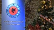 Demokristianët e PSHDK-së takohen për Festën e Krishtlindjes-lajme