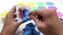 Learn Colors With Mad Mattr W Sand Rainbow Yogurt Surprise Toys How To Make For Kids