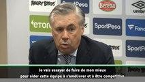"Everton - Ancelotti : ""Nous allons rapidement progresser"""